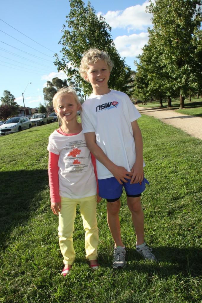 Noah & Ella Lamrock