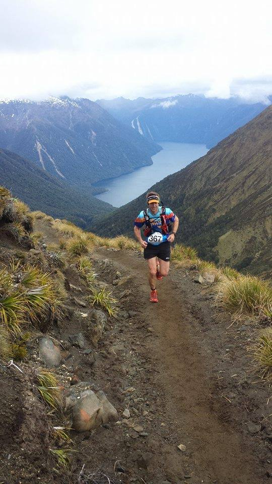 TALL ORDER: David Ross competes in New Zealand's Keppler Challenge last weekend.