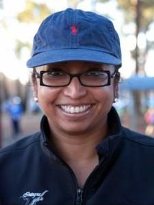 HANDICAP WINNER: Sabrina Manickam