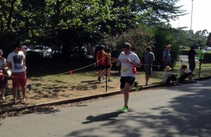 PUSHING ON: Bailey Penrose was last Sunday's winner at Clergate