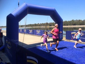 2015 10 10 Brett Sammut finishing the Western Sydney Marathon_n